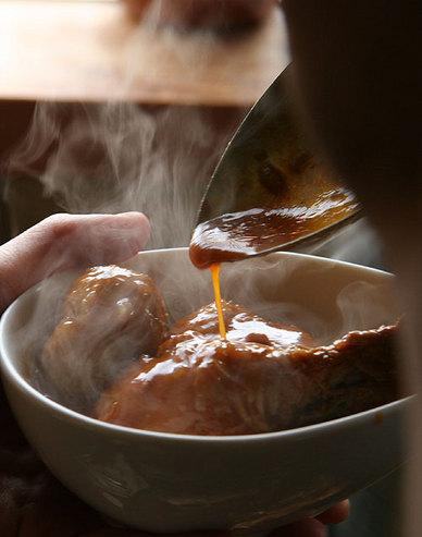 マサラチキンの煮込みカレー