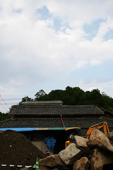 森國ギャラリー工事風景