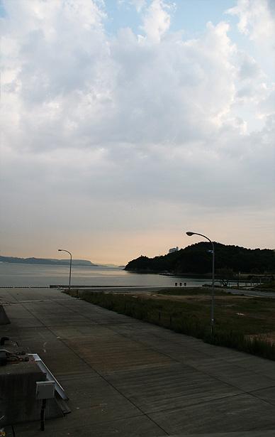 小豆島の港