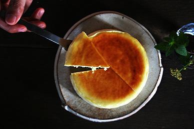 パティスリー・カシュカシュさんのチーズケーキ