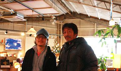 新井さんとKentくん