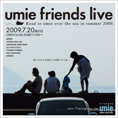 umie friends live