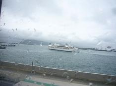 北浜の台風