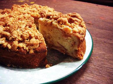 りんごのバターケーキ